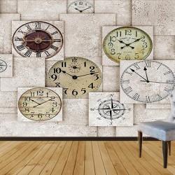 Duvar Saatleri Duvar Kumaşı