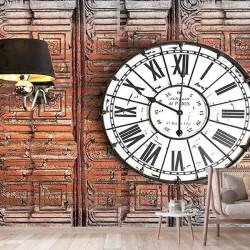 Antik Saat Duvar Kumaşı#1