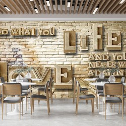 Cafe Duvar Kumaşı#1