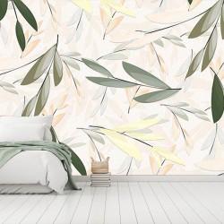 Zeytin Dalı Duvar Kumaşı