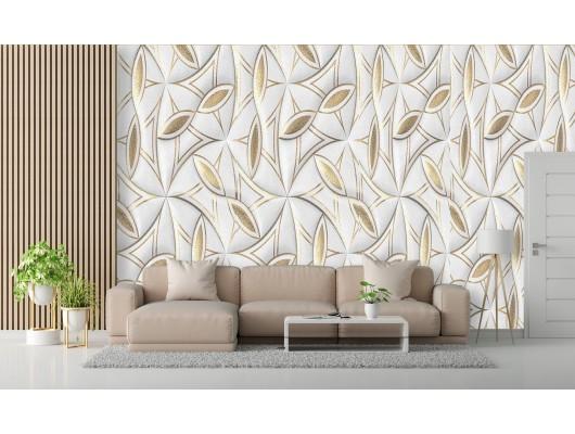 Yaldızlı Modern Duvar Kumaşı