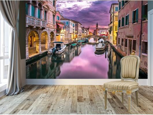 Venedik Evleri Duvar Kumaşı