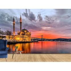 Ortaköy Camii Duvar Kumaşı