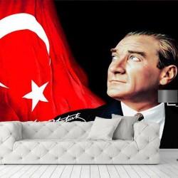 Atatürk Posteri #2 Duvar Kumaşı