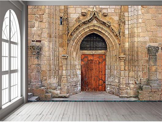 Tarihi Kapı Duvar Kumaşı