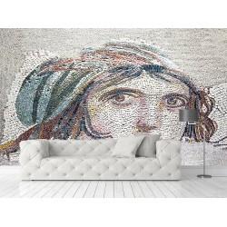 Mozaik Görseli Duvar Kumaşı