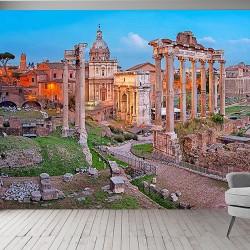 Roma Formu Görseli Duvar Kumaşı