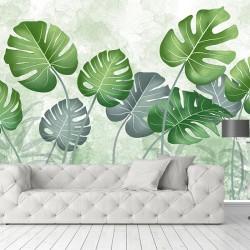 Tropikal Duvar Kumaşı