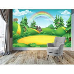 Çocuk Odası Duvar Kumaşı#8