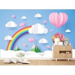 Çocuk Odası Duvar Kumaşı #7
