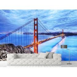 Golden Gate Köprüsü Duvar Kumaşı