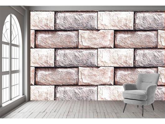 Seramik Taş Desenli Duvar Kumaşı