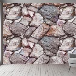 Taş Desenli Duvar Kumaşı