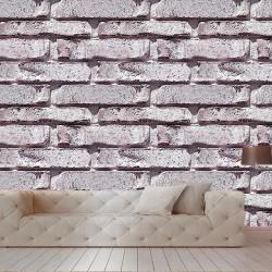 Eskitme Taş Desenli Duvar Kumaşı
